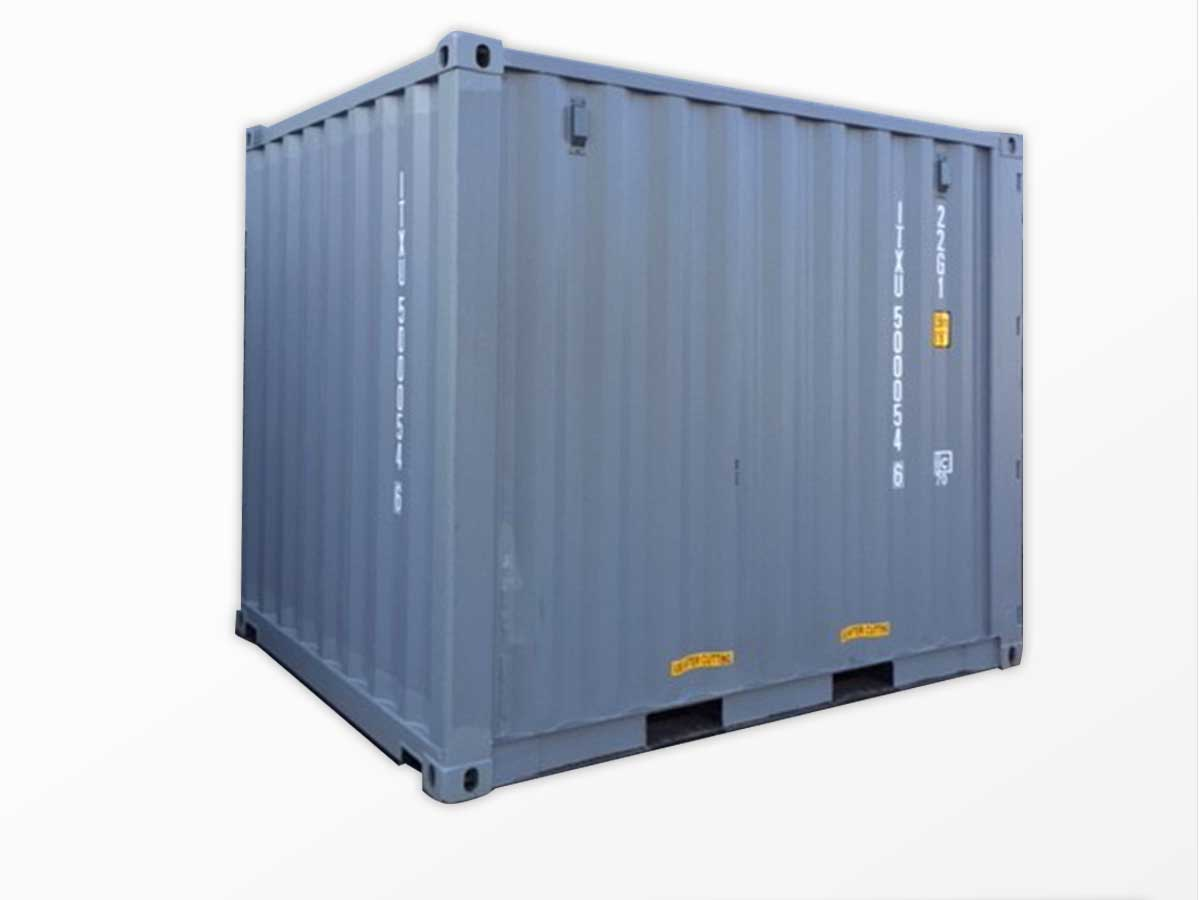 10-foot standard dry shipping containers for sale