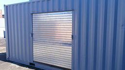 shipping container windows and doors