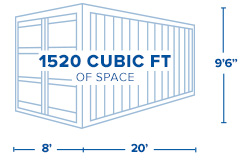 20ft. High-Cube Container