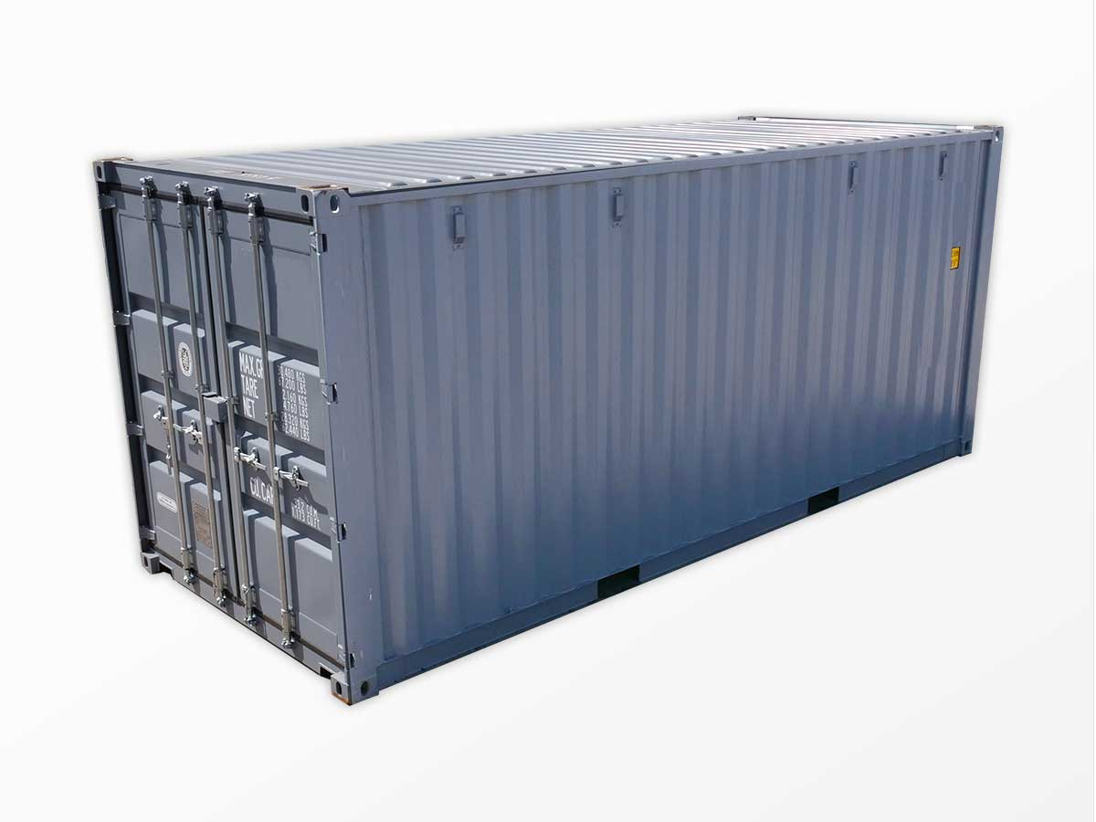 Steel shipping containers for sale or rent interport for Metal shipping crate