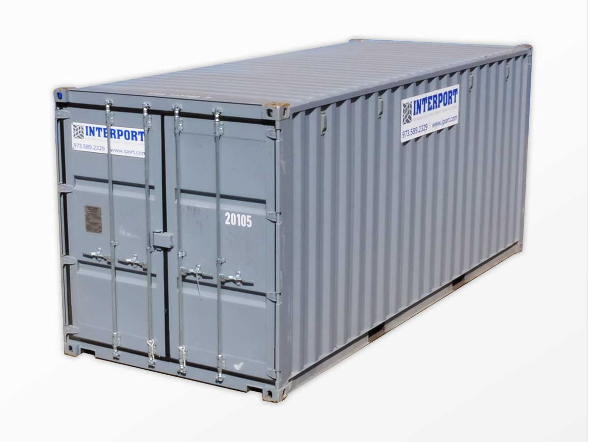 20 ft shipping storage containers for rent in nj interport. Black Bedroom Furniture Sets. Home Design Ideas