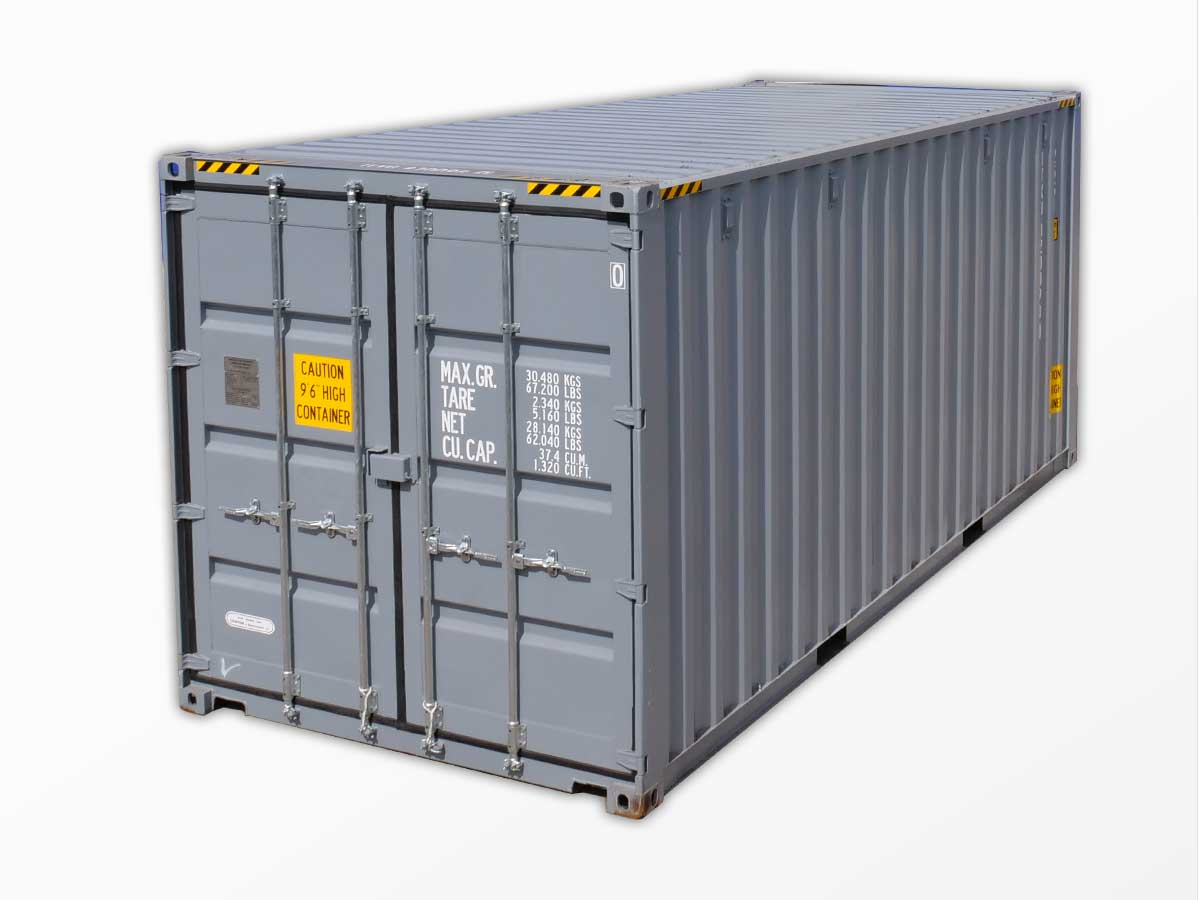 20-foot high-cube shipping containers for sale