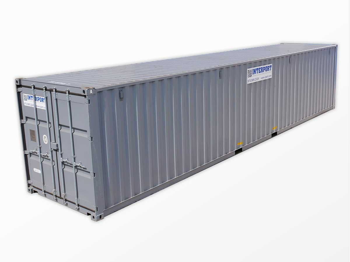 40 Foot Shipping Storage Containers for Rent in NJ Interport