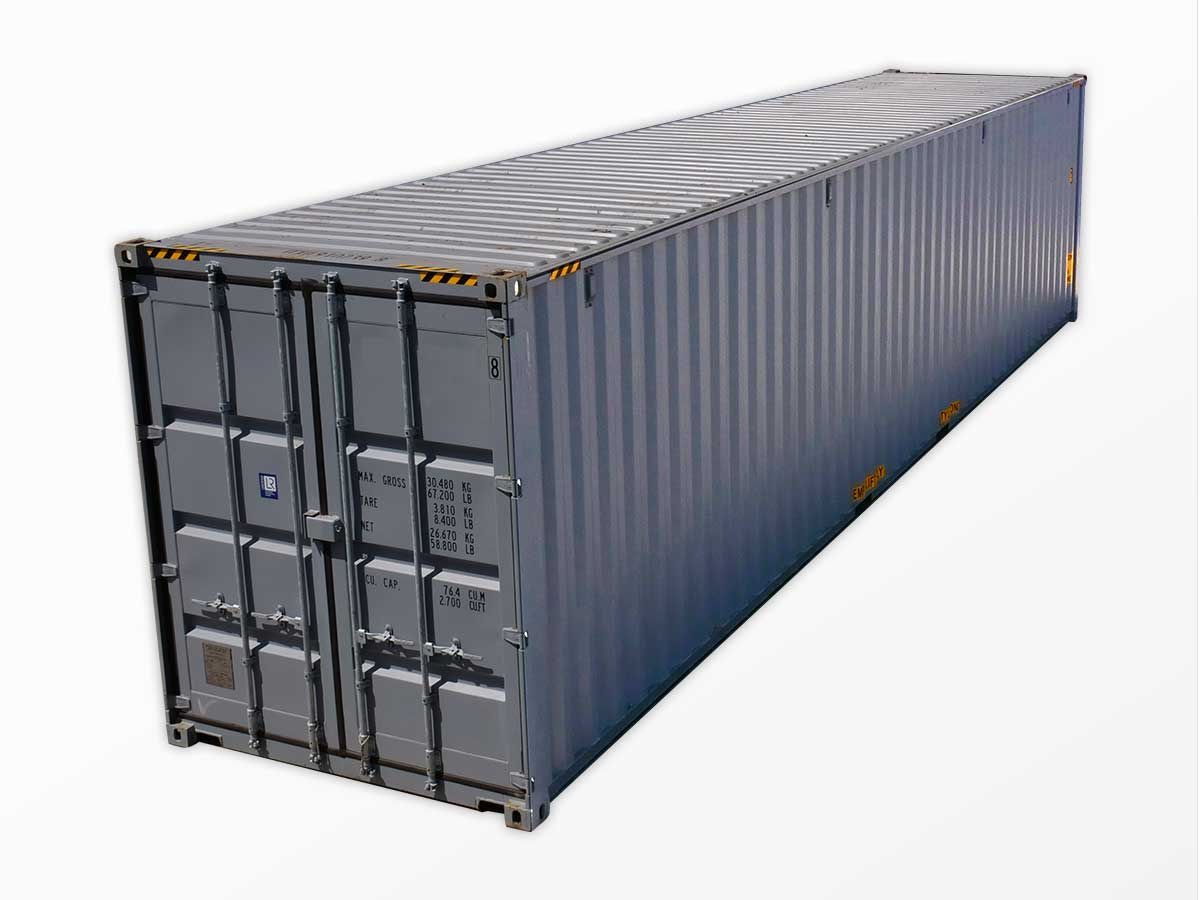 40 Foot High Cube Containers for Sale New Used Interport