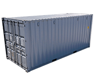 Interport sells both new and used shipping containers in a variety of sizes. In addition to our standard dry containers, we offer double-door, refrigerated, insulated, flatrack, and open-top containers.