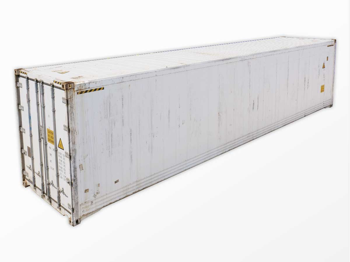 40-foot high-cube insulated shipping containers for sale (40-foot non-functioning reefers)
