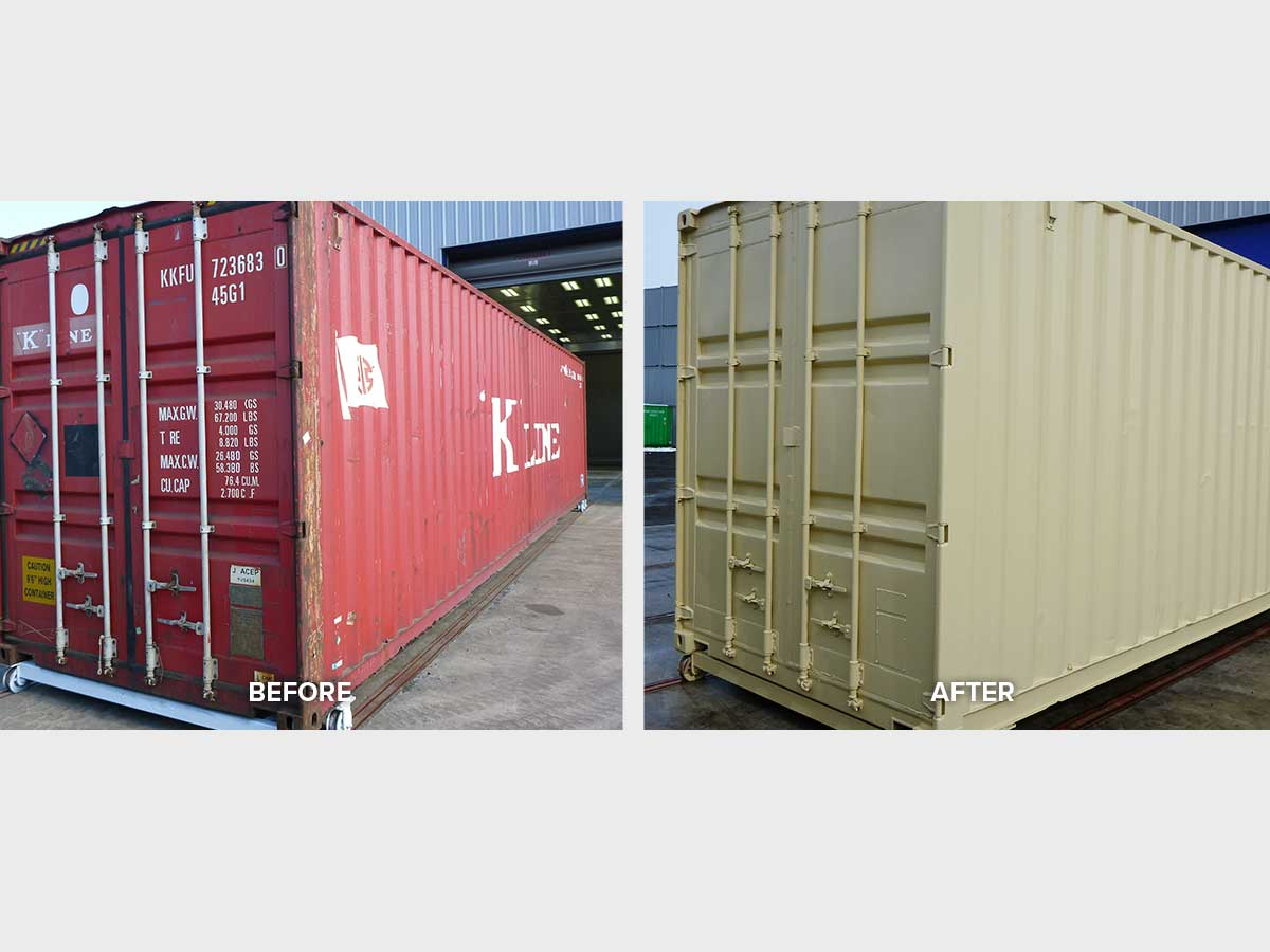 decals for shipping containers