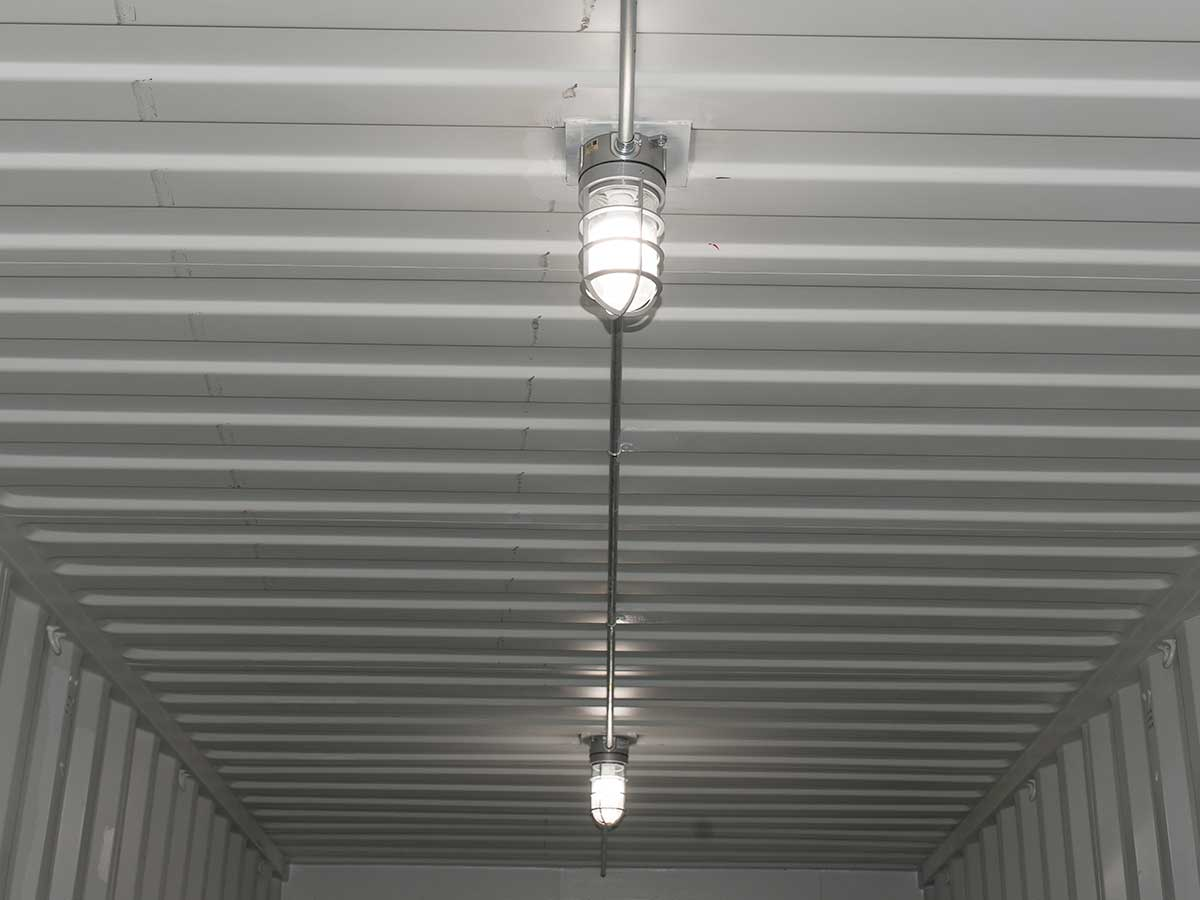 Shipping Container Lighting & Electrical Solutions | Interport