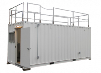 Storage Container for Governments, Municipalities and Military Use