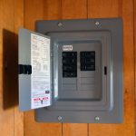 Electrical Box in Shipping Container