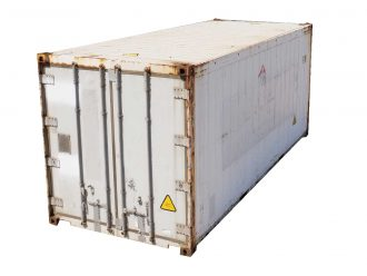 20ft insulated container