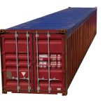 40 foot open top container